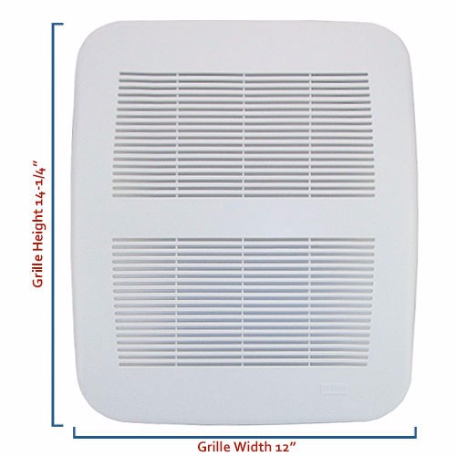 Nutone Bathroom Fan Replacement Grille: Nutone Products: NuTone QT110 Replacement Bath Fan Parts